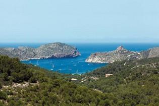 View of Cabrera Island
