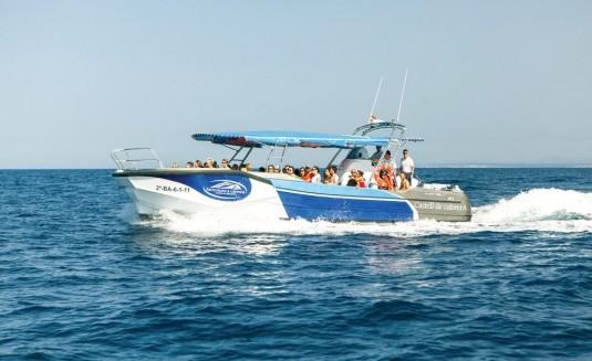 barco excursions a cabrera (castell de cabrera)