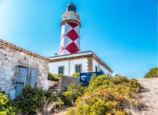 ensiola lighthouse in cabrera island