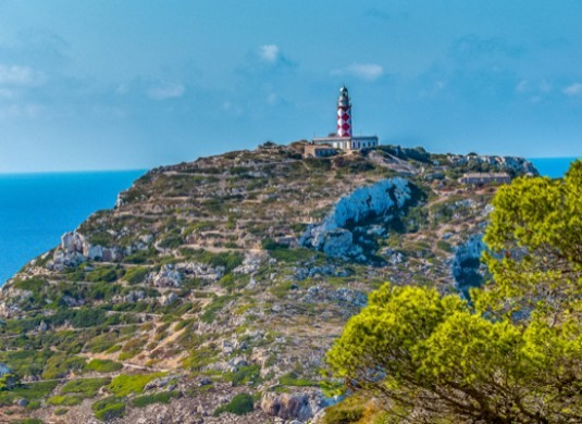 lighthouse of cabrera island