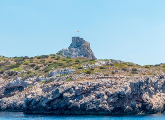 cabrera island's castle
