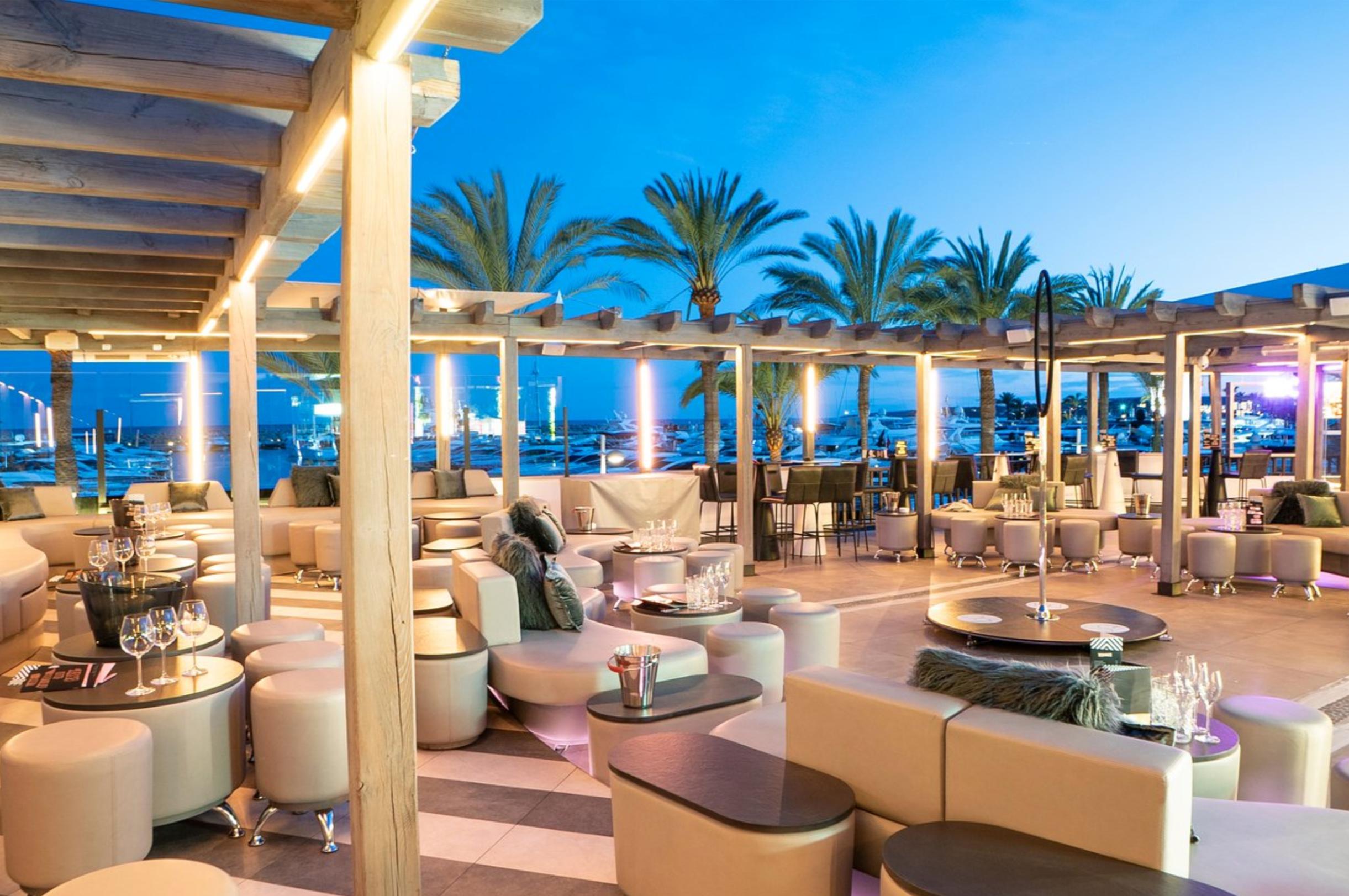 where do celebrities go in Mallorca?